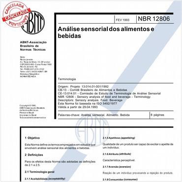 NBR12806 de 02/1993