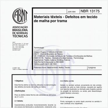 NBR13175 de 06/1994