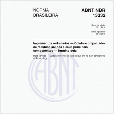NBR13332 de 11/2010