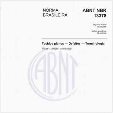 NBR13378 de 08/2006