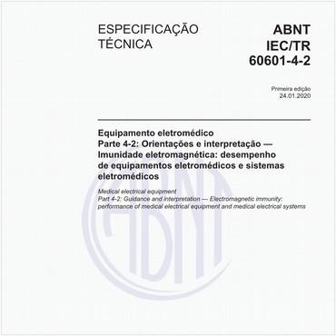 ABNT IEC/TR60601-4-2 de 01/2020