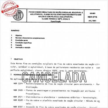 NBR6715 de 07/1981