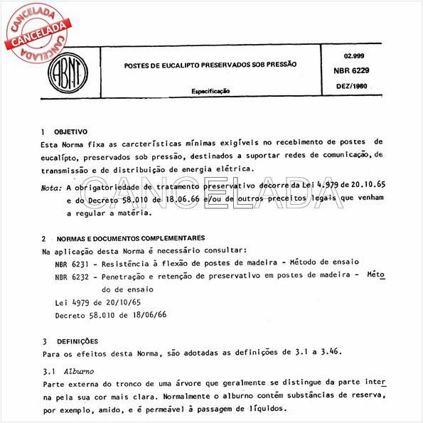 NBR6229 de 08/1985