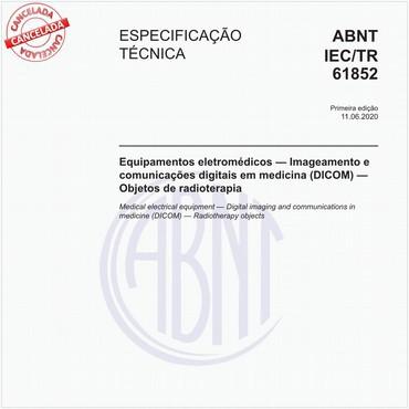 ABNT IEC/TR61852 de 06/2020