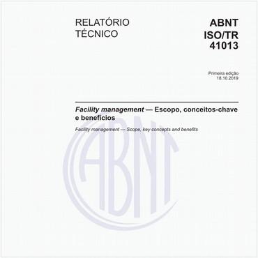 ABNT ISO/TR41013 de 10/2019
