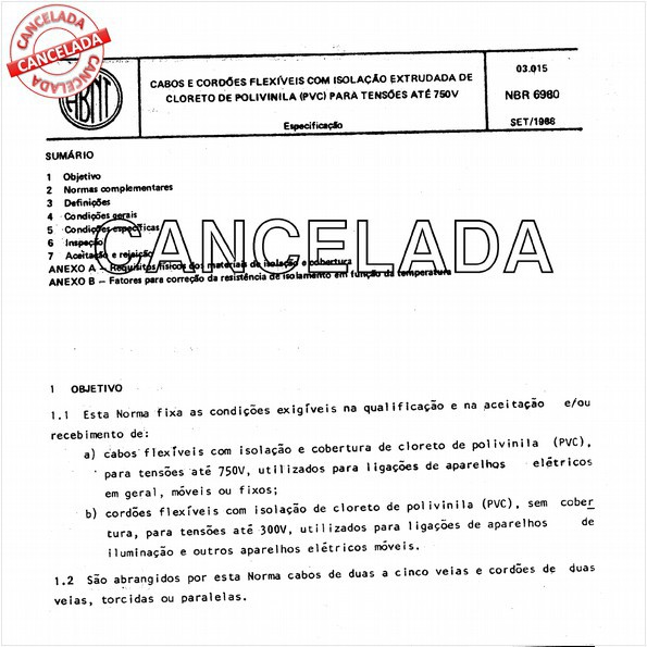 NBR6980 de 02/1995