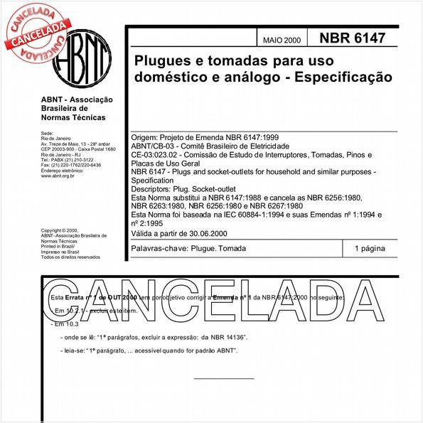 NBR6147 de 11/2004