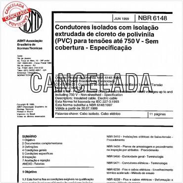 NBR6148 de 06/1999