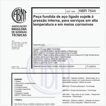 NBR7544 de 10/1994