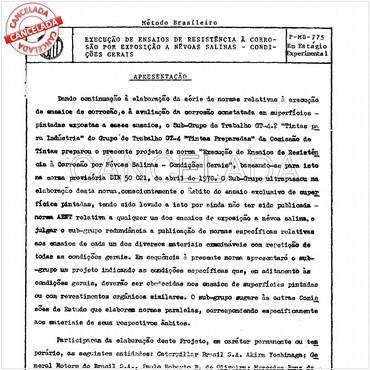 NBR6149 de 09/1983