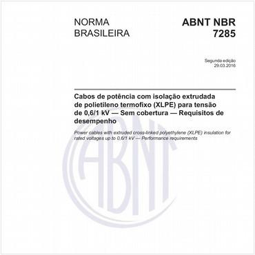 NBR7285 de 03/2016