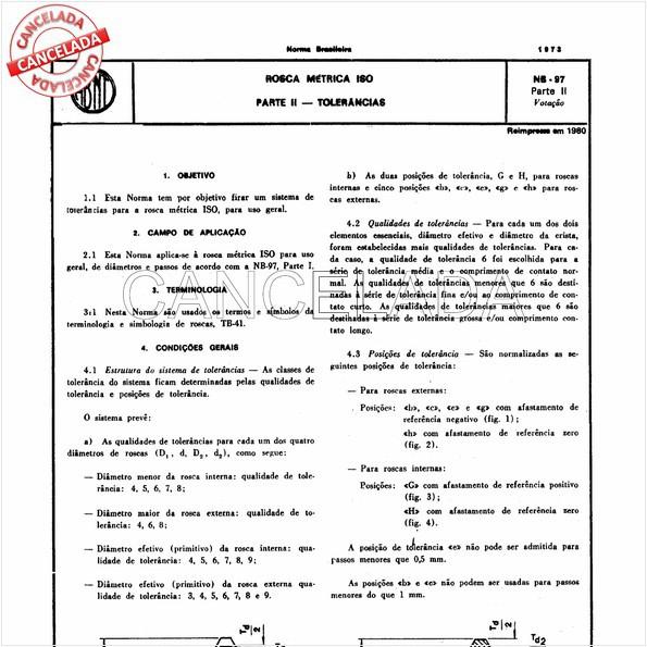 NBR6160 de 06/1984