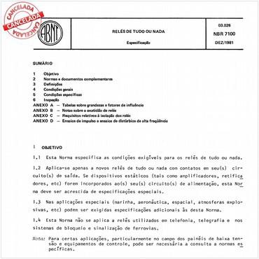 NBR7100 de 12/1981