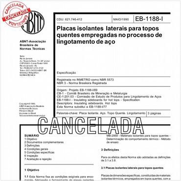 NBR5573 de 05/1990