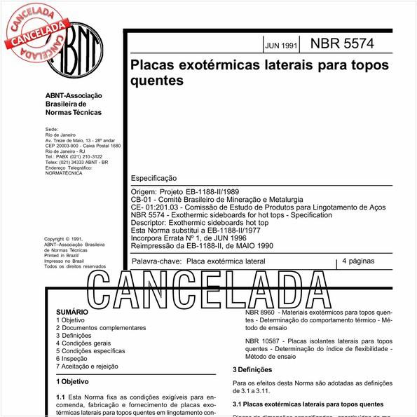 NBR5574 de 05/2011