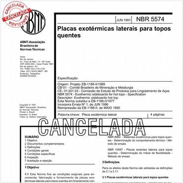 NBR5574 de 06/1991