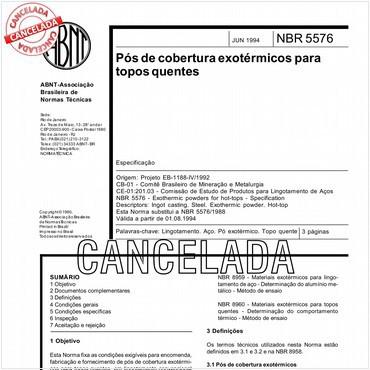 NBR5576 de 06/1994