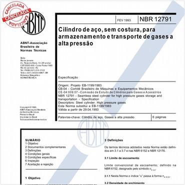NBR12791 de 02/1993