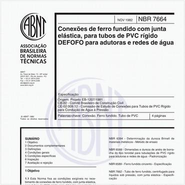 NBR7664 de 11/1982