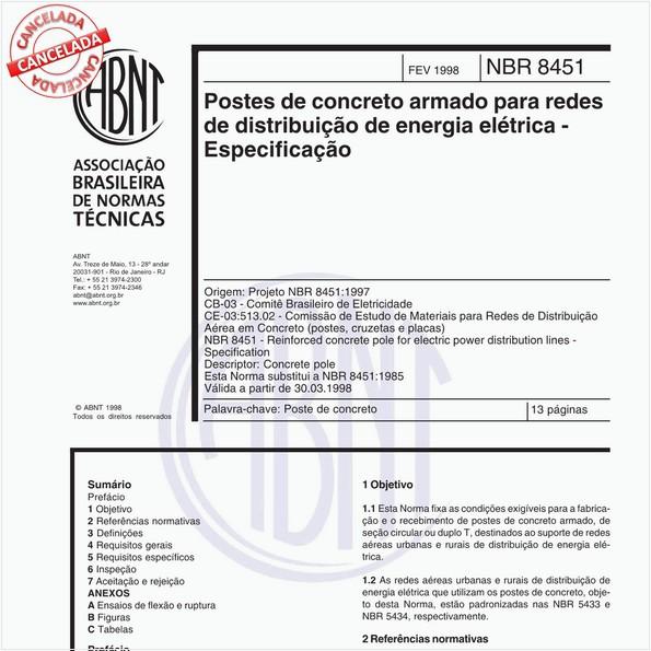 NBR8451 de 12/2011