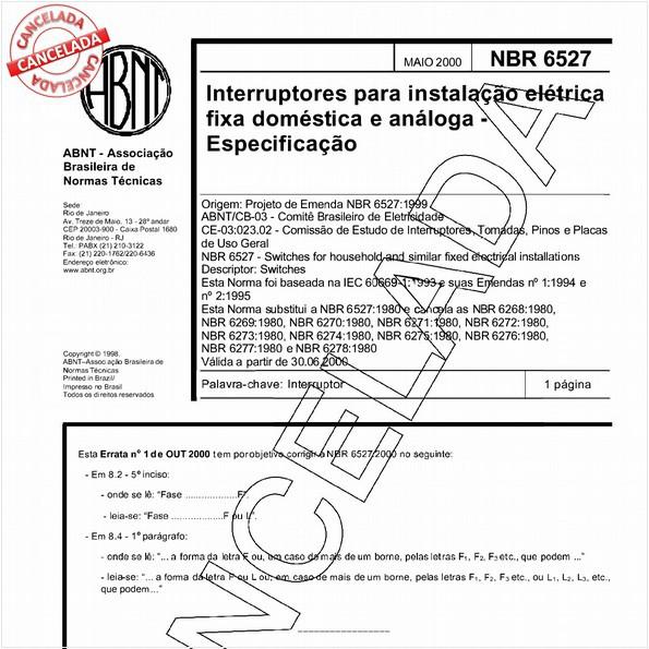 NBR6527 de 10/2004