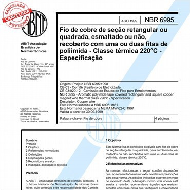 NBR6995 de 08/1999