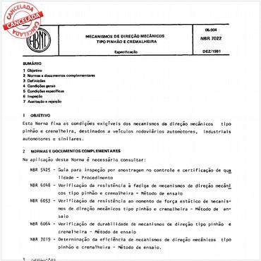 NBR7022 de 12/1981