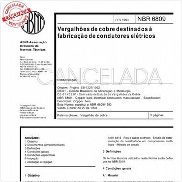 NBR6809 de 02/1993