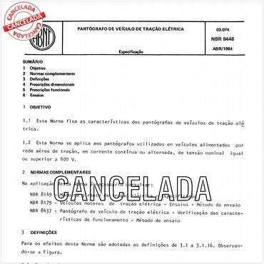 NBR8448 de 04/1984