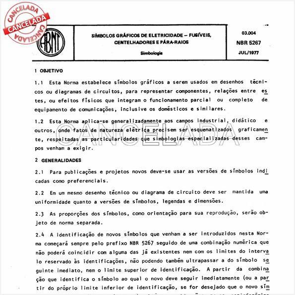 NBR5267 de 08/1993