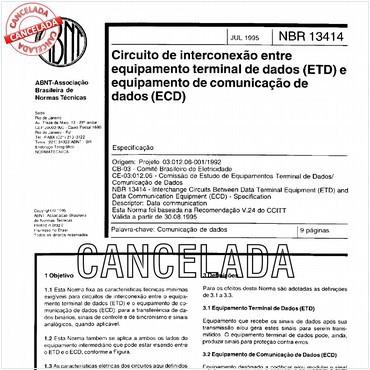 NBR13414 de 07/1995