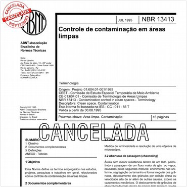 NBR13413 de 07/1995
