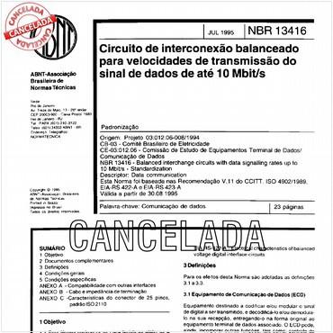 NBR13416 de 07/1995