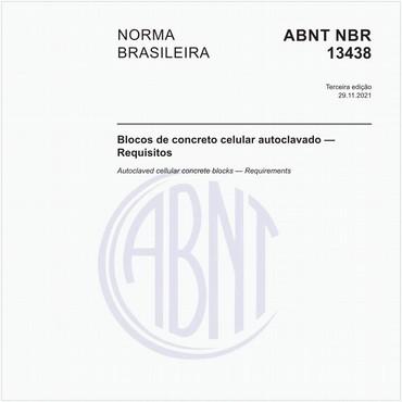 NBR13438 de 04/2013