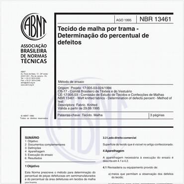 NBR13461 de 08/1995