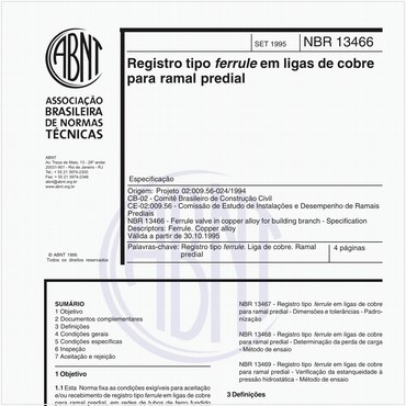 NBR13466 de 09/1995