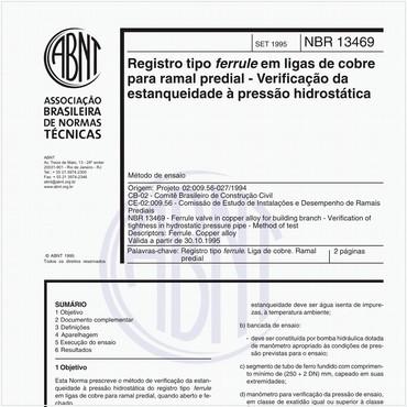 NBR13469 de 09/1995
