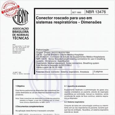 NBR13476 de 09/1995