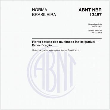 NBR13487 de 01/2012
