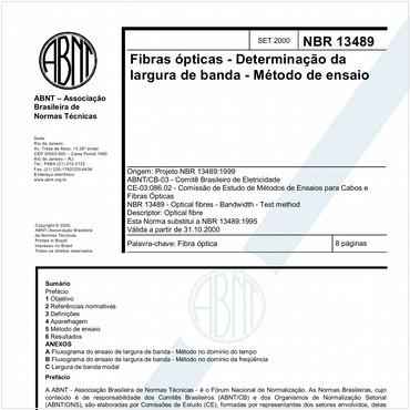 NBR13489 de 09/2000