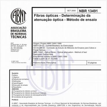 NBR13491 de 09/2000