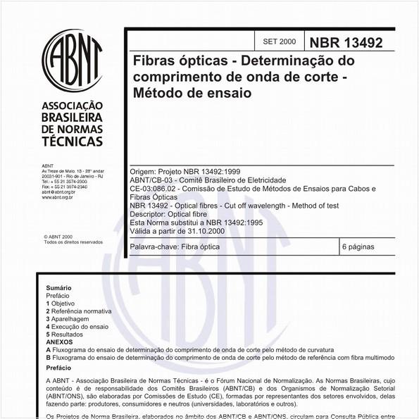 NBR13492 de 09/2000