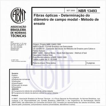 NBR13493 de 09/2000