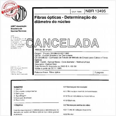 NBR13495 de 10/1995