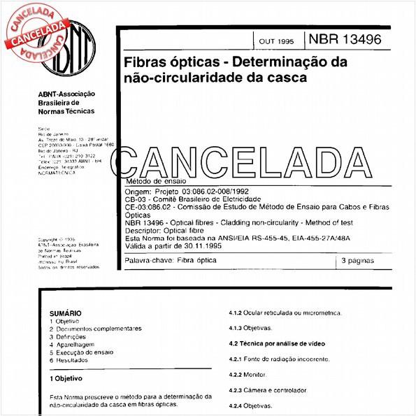 NBR13496 de 12/1999