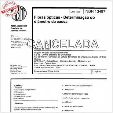 NBR13497 de 10/1995
