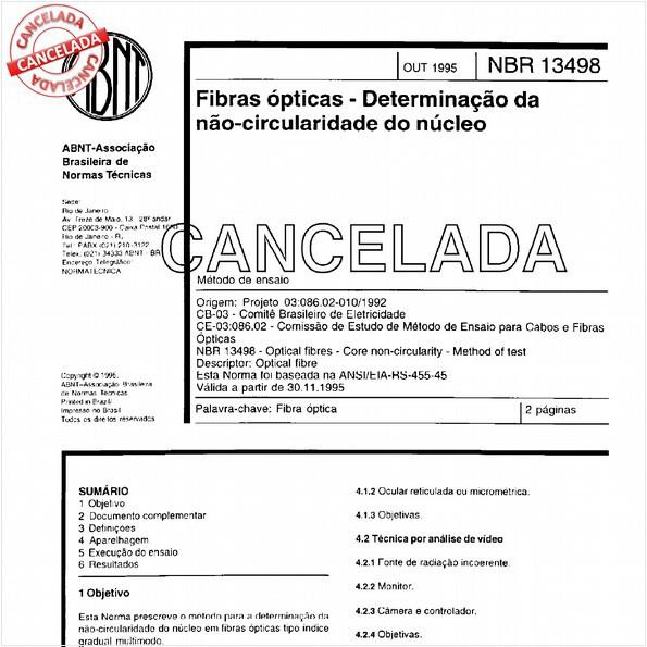 NBR13498 de 12/1999