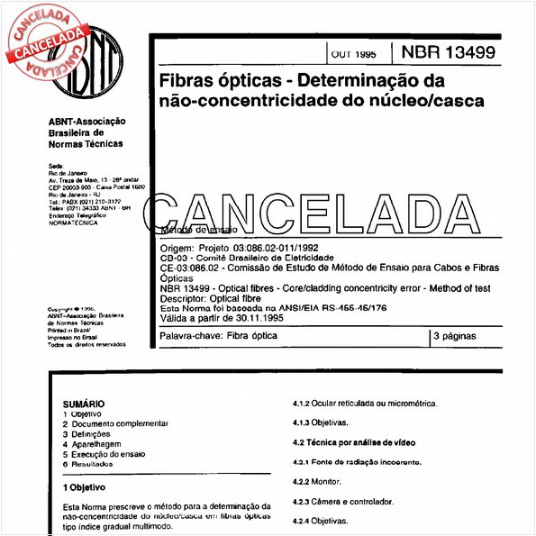 NBR13499 de 12/1999
