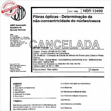 NBR13499 de 10/1995