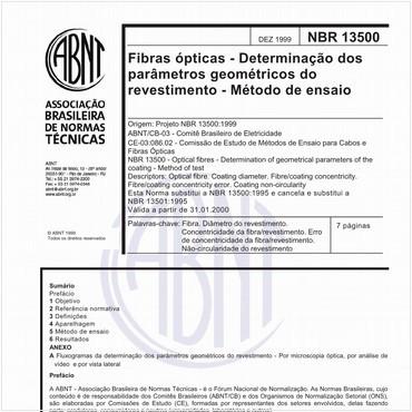 NBR13500 de 12/1999
